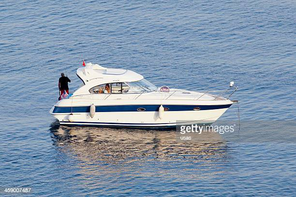 Aygun Named motor boat at Akyarlar-Bodrum