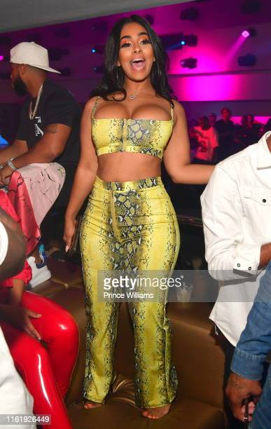 Ayisha Diaz attends Jim Jones birthday Party at Compound on July 14 2019 in Atlanta Georgia