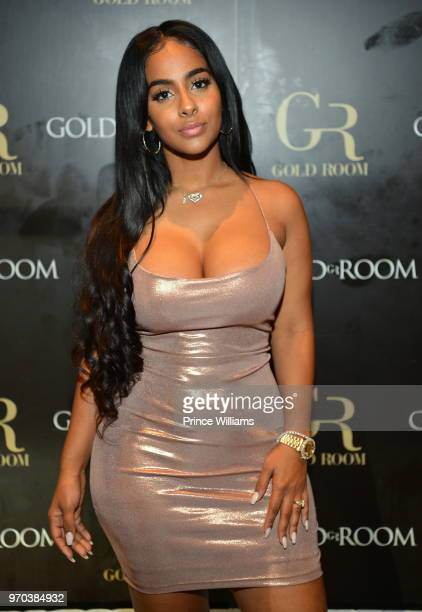 Ayisha Diaz attends Memorial weekend Takeover at Gold Room on May 27 2018 in Atlanta Georgia