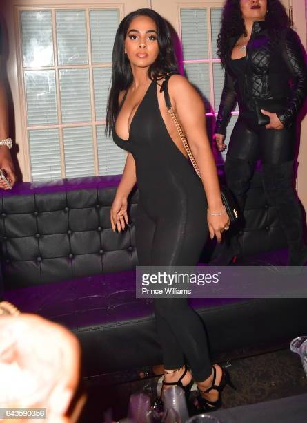 Ayisha Diaz attends The Rich and Famous All Star Weekend Grand Finale at The Metropolitan on February 20 2017 in New Orleans Louisiana
