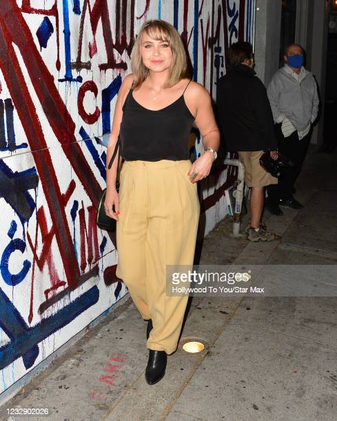 Ayla Kell is seen on May 14, 2021 in Los Angeles, California.