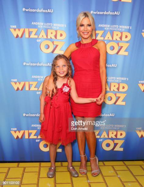 Ayla Nicholas and Melissa Tkautz attend The Wizard of Oz Sydney Premiere at Capitol Theatre on January 4 2018 in Sydney Australia