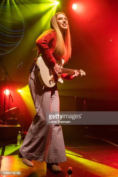 Ayla Tesler-Mabe of Calpurnia performs at KOKO on November 29, 2018 in London, England.