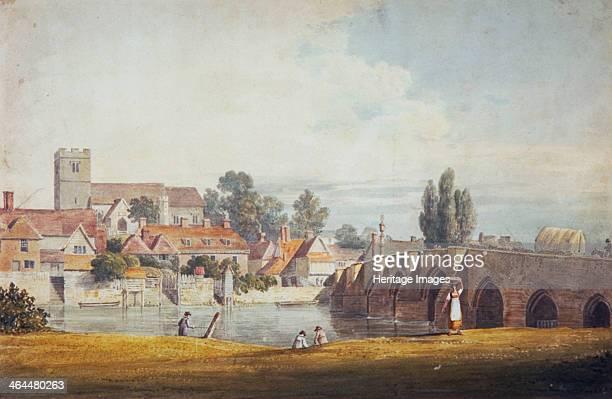 'Aylesford near Maidstone Kent' 19th century