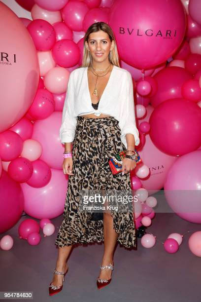 Aylin Koenig during the Bulgari Omnia Pink Sapphire party on May 4 2018 in Berlin Germany