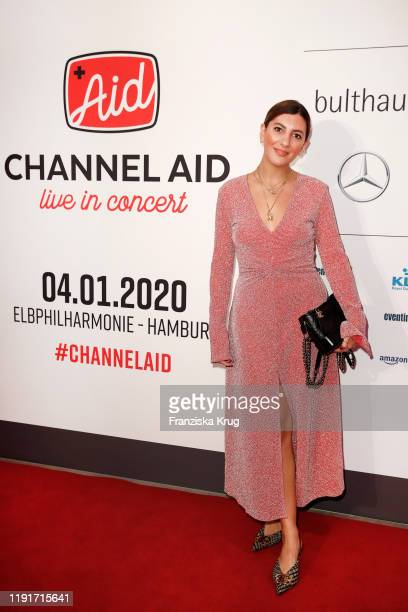 Aylin Koenig during the Channel Aid Live in concert at Elbphilharmonie on January 4 2020 in Hamburg Germany