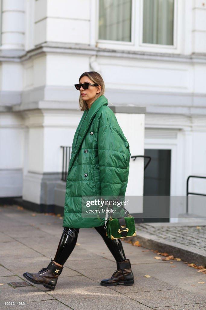 Street Style - Hamburg - October 08, 2018 : Photo d'actualité