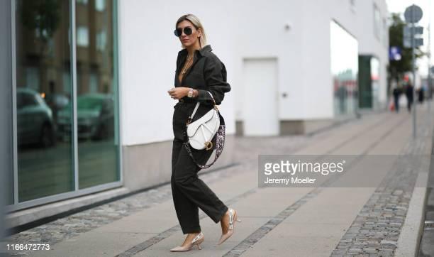 Aylin Koenig wearing a complete Dior look on August 06 2019 in Copenhagen Denmark