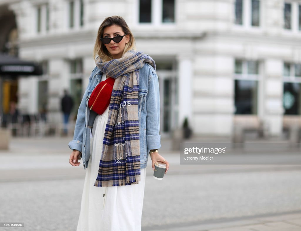 Street Style In Hamburg - March 27, 2018 : Photo d'actualité