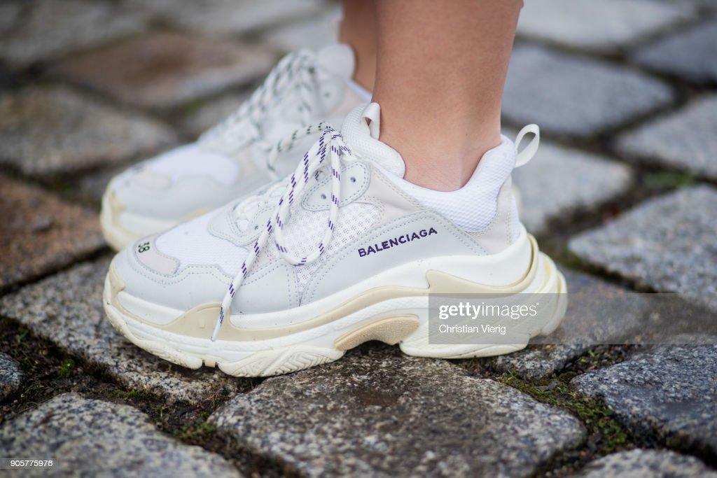Street Style - Berlin Fashion Week January 2018