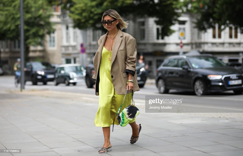 Street Style - Hamburg - June 20, 2019 : Photo d'actualité