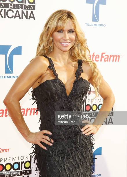 Aylin Mujica arrives at the 2012 Billboard Mexican Music Awards held at The Shrine Auditorium on October 18 2012 in Los Angeles California