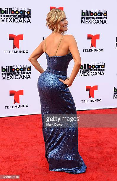 Aylin Mujica attends the 2013 Billboard Mexican Music Awards held at the Dolby Theatre on October 9 2013 in Hollywood California