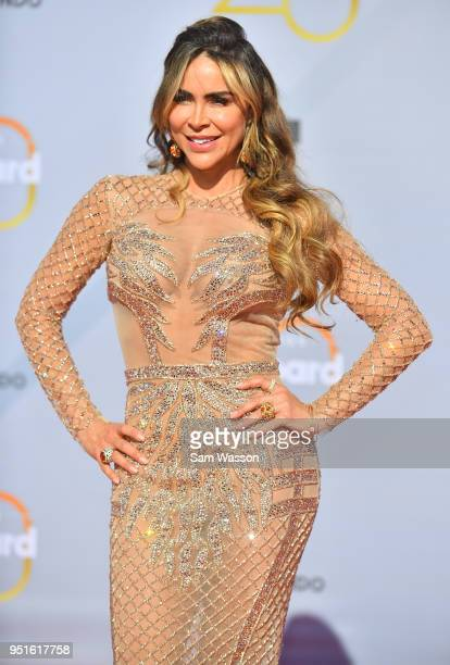 Aylin Mujica attends the 2018 Billboard Latin Music Awards at the Mandalay Bay Events Center on April 26 2018 in Las Vegas Nevada
