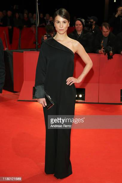 Aylin Tezel arrives for the closing ceremony of the 69th Berlinale International Film Festival Berlin at Berlinale Palace on February 16 2019 in...