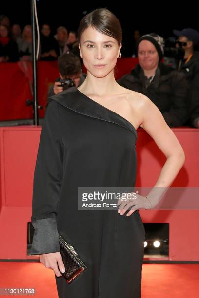 Aylin Tezel arrives for the closing ceremony of the 69th Berlinale International Film Festival Berlin at Berlinale Palace on February 16, 2019 in...