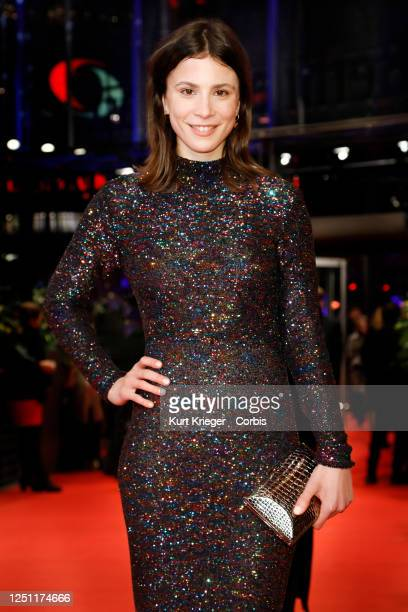 Aylin Tezel arrives for the opening ceremony and 'My Salinger Year' premiere at the Berlinale Palast during the 70th Berlin International Film...