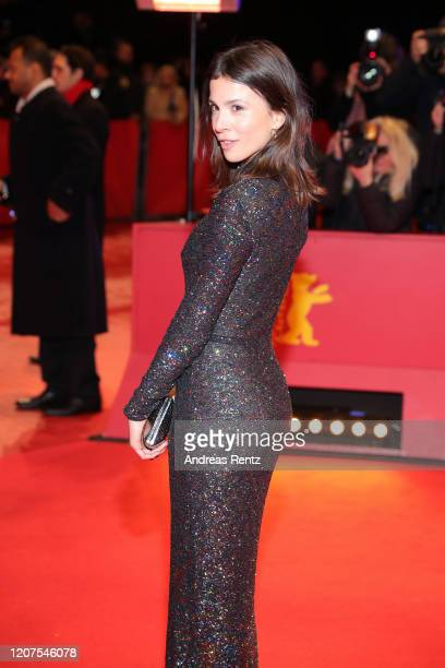 """Aylin Tezel arrives for the opening ceremony and """"My Salinger Year"""" premiere during the 70th Berlinale International Film Festival Berlin at..."""