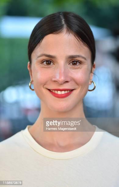 Aylin Tezel attends the ARD Degeto Reception during the Munich Film Festival 2019 at Kaisergarten on June 28, 2019 in Munich, Germany.
