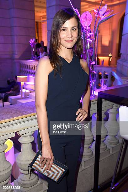Aylin Tezel attends the ARD Hosts Blue Hour Reception on February 12 2016 in Berlin Germany