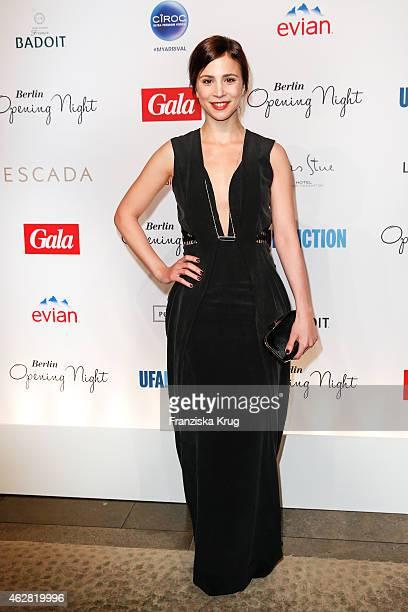 Aylin Tezel attends the 'Berlin Opening Night Of Gala Ufa Fiction on February 05 2015 in Berlin Germany