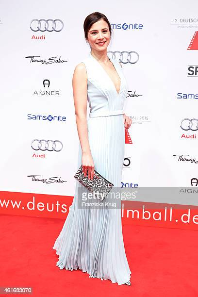 Aylin Tezel attends the German Film Ball 2015 on January 17 2015 in Munich Germany