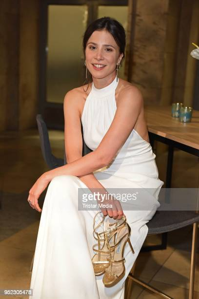 Aylin Tezel attends the Lola German Film Award party at Palais am Funkturm on April 27 2018 in Berlin Germany