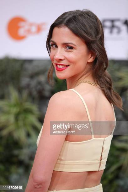 Aylin Tezel attends the Lola - German Film Award red carpet at Palais am Funkturm on May 03, 2019 in Berlin, Germany.