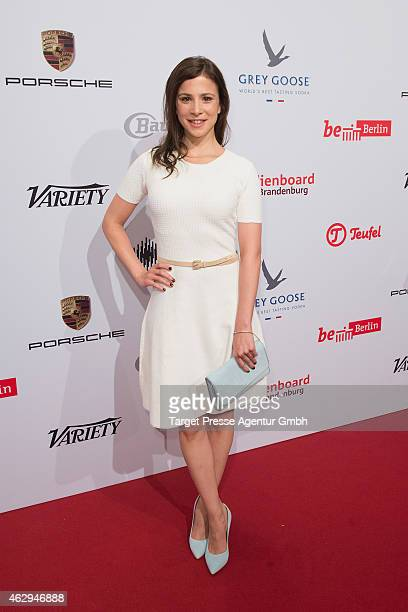 Aylin Tezel attends the Medienboard BerlinBrandenburg Reception at Ritz Carlton on February 7 2015 in Berlin Germany