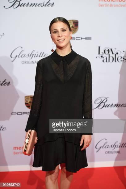 Aylin Tezel attends the Medienboard BerlinBrandenburg Reception at The 68th Berlinale International Film Festival on February 17 2018 in Berlin...