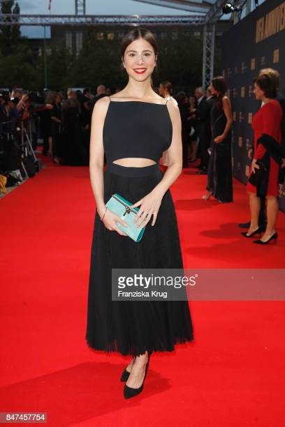 Aylin Tezel attends the UFA 100th anniversary celebration at Palais am Funkturm on September 15 2017 in Berlin Germany