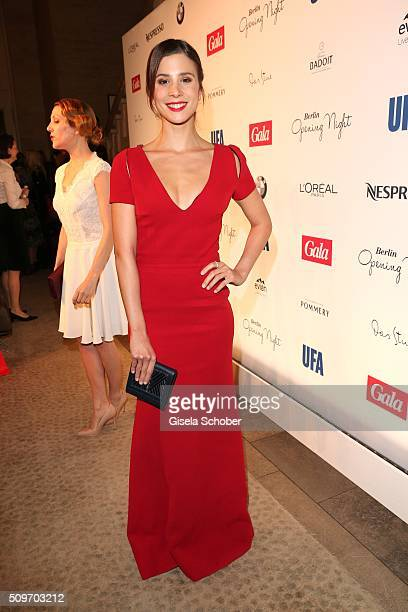 Aylin Tezel during the 'Berlin Opening Night of GALA UFA Fiction' at Das Stue Hotel on February 11 2016 in Berlin Germany