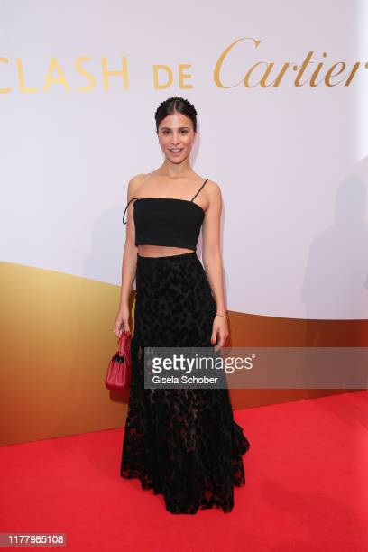 """Aylin Tezel during the """"Clash de Cartier - The Opera"""" event at Eisbachstudios on October 24, 2019 in Munich, Germany."""