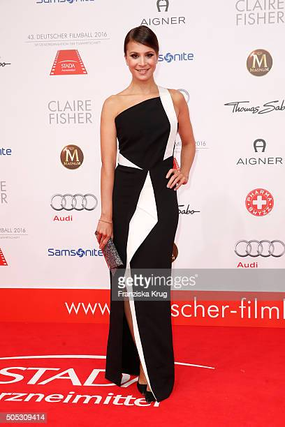 Aylin Tezel during the German Film Ball 2016 at Hotel Bayerischer Hof on January 16 2016 in Munich Germany