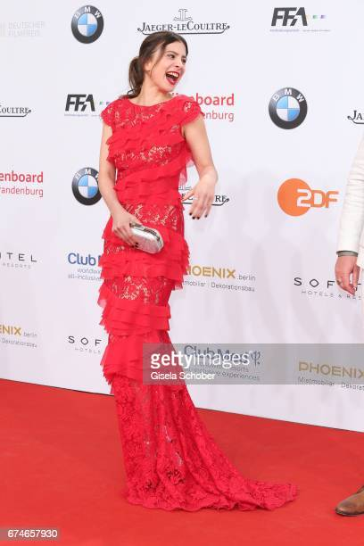 Aylin Tezel during the Lola German Film Award red carpet arrivals at Messe Berlin on April 28 2017 in Berlin Germany