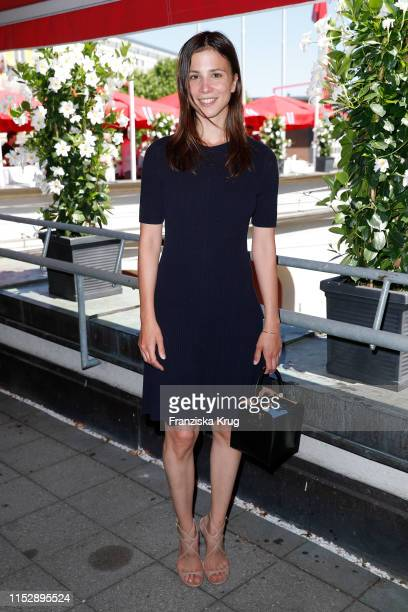 Aylin Tezel during the Longchamp x Constantin Film Cocktail event at The Grill Restaurant on June 29, 2019 in Munich, Germany.