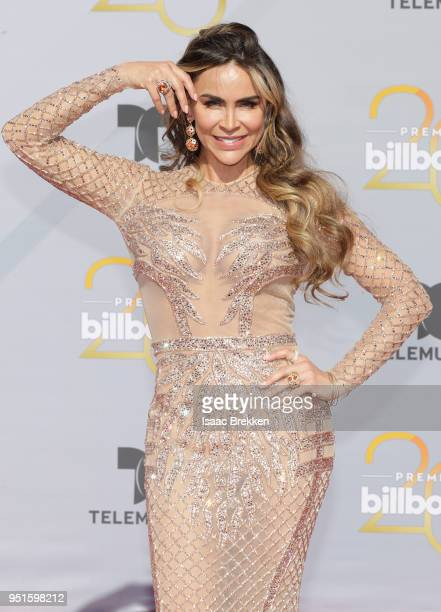 Aylín Mujica attends the 2018 Billboard Latin Music Awards at the Mandalay Bay Events Center on April 26 2018 in Las Vegas Nevada