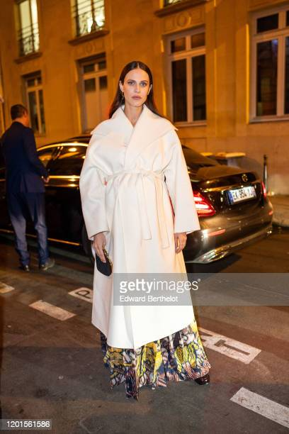 Aymeline Valade arrives at Sidaction Gala Dinner 2020 At Pavillon Cambon on January 23 2020 in Paris France