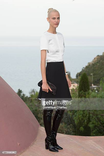 Aymeline Valade attends Dior Croisiere 2016 Dior Cruise Photocall At 'Palais Bulle Bubble Palace' In French Riviera on May 11 2015 in Theoule sur mer...