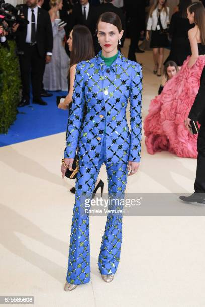 Aymeline Valade attends 'Rei Kawakubo/Comme des Garcons Art Of The InBetween' Costume Institute Gala Arrivals at Metropolitan Museum of Art on May 1...