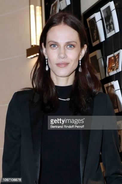 Aymeline Valade attends the Boucheron Cocktail Party at Place Vendome on January 20 2019 in Paris France
