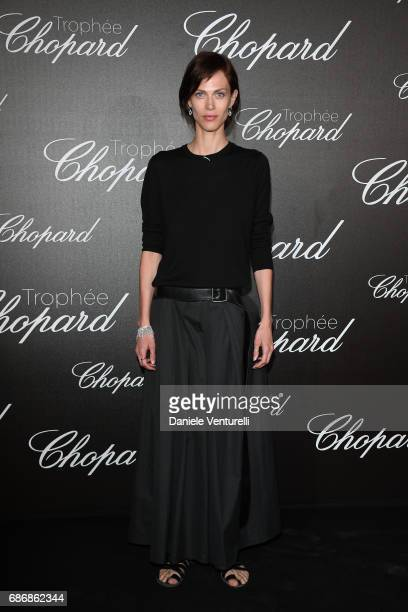Aymeline Valade attends the Chopard Trophy photocall at Hotel Martinez on May 22 2017 in Cannes France