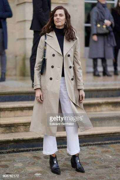 Aymeline Valade attends the Christian Dior Haute Couture Spring Summer 2018 show as part of Paris Fashion Week on January 22 2018 in Paris France