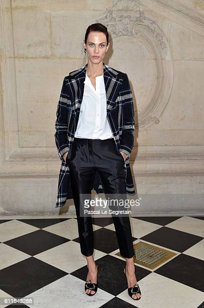 Aymeline Valade attends the Christian Dior show of the Paris Fashion Week Womenswear Spring/Summer 2017 on September 30 2016 in Paris France