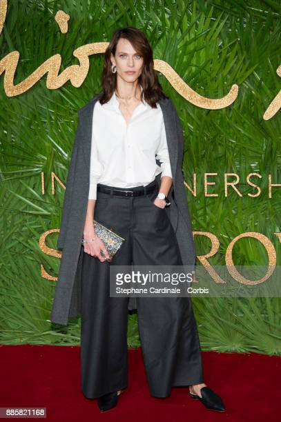 Aymeline Valade attends the Fashion Awards 2017 In Partnership With Swarovski at Royal Albert Hall on December 4 2017 in London England