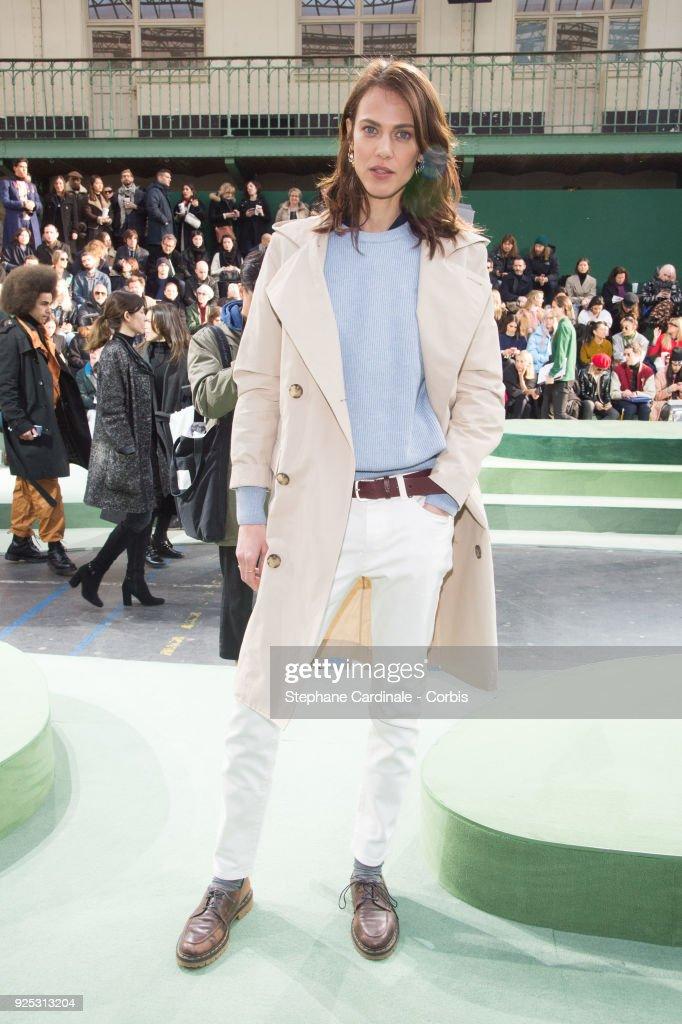 Lacoste : Front Row - Paris Fashion Week Womenswear Fall/Winter 2018/2019