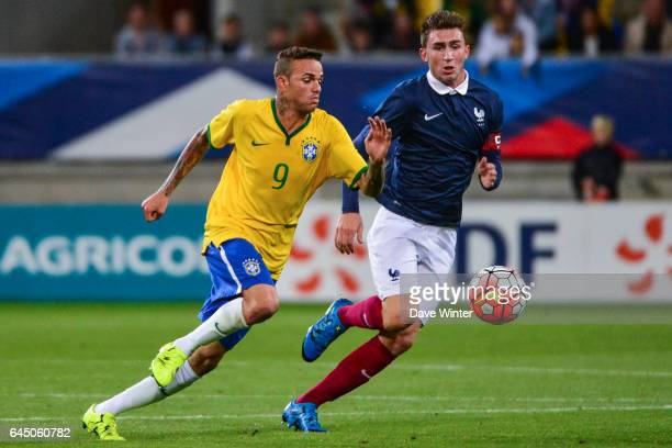 LUAN / Aymeric LAPORTE France / Bresil Espoirs Match amical 2015 Photo Dave Winter / Icon Sport