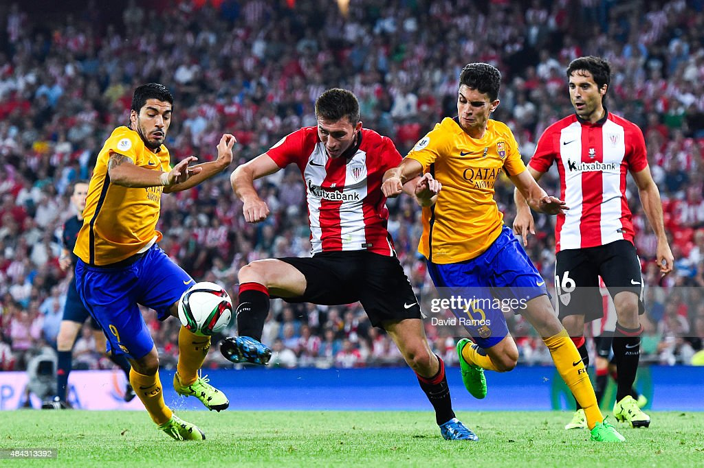 Athletic Club v Barcelona - Spanish Super Cup: First Leg : News Photo