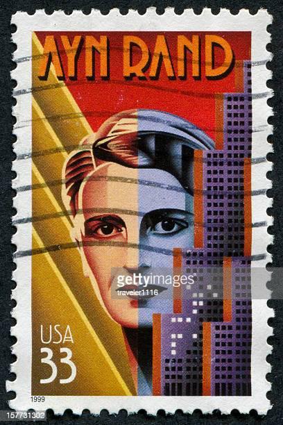 Ayn Rand Stamp