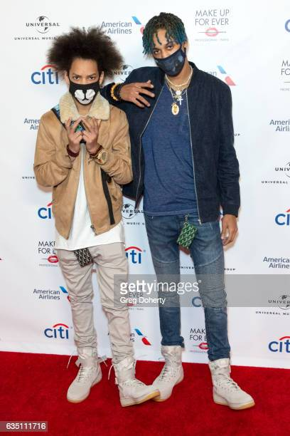 Ayo and Teo attend the Universal Music Group's 2017 GRAMMY After Party at The Theatre at Ace Hotel on February 12 2017 in Los Angeles California
